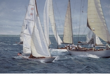 Chasing 5 - The Opera Cup Giclee