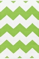 Chevron White/AppleRain or Shine Rug