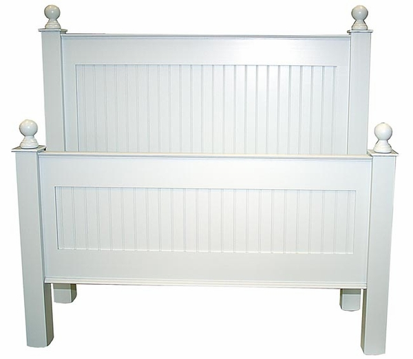 Classic Cottage Beadboard Bed All Sizes