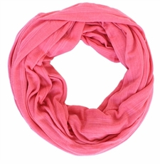 Coral Calypso Infinity Scarf