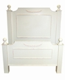 Cottage Classic Bed with Applique All Sizes