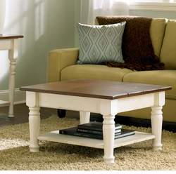 Cottage Coffee Table in 3 Sizes <font color=a8bb35> NEW</font>