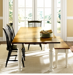 Cottage Dining Table <font color=a8bb35> NEW</font>