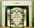 Cottage Garden Fireplace Screen