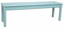 Cottage Planked Queen Bench <font color=a8bb35> Most colors stocked</font>