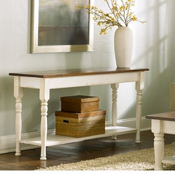 Cottage Sofa Table in Three Sizes<font color=a8bb35> NEW</font>