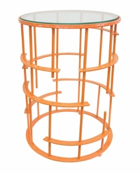 Crestwood Table in Orange  <Font color=a8bb35> NEW</font>