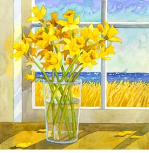Daffodils in the Window