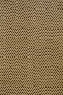 Dash and Albert Diamond Brown/Khaki Rain or Shine Rug