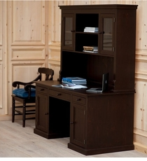 English Farmhouse Desk and Hutch