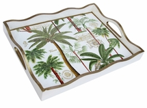 Exotic Palm Tray