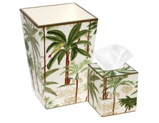 Exotic Palms Bath Set