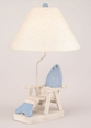 Fish Adirondack Chair Table Lamp