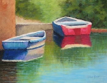 Floating Under the Bridge Giclee