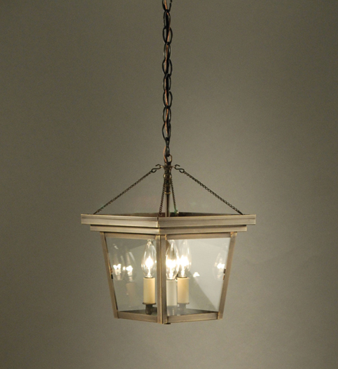 Foyer 3 Light Hanging Fixture For Sale Cottage Bungalow