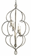 Franklin 5-Light Chandelier <font color=a8bb35> NEW </font>