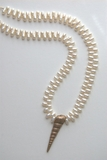 Freshwater Pearl and Shell Necklace