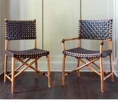 Grammercy Side and Arm Chairs in Espresso <font color=a8bb35> NEW </font>