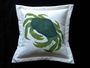Green Crab Pillow