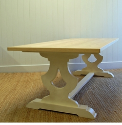 Gustavian Farm Table in Two Sizes<font color=a8bb35> NEW</font>