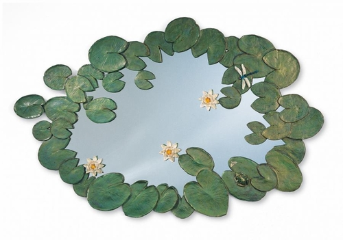 Hand Painted Water Lilies