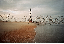 Hatteras Lighthouse Giclee