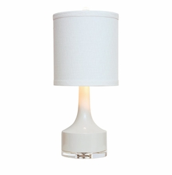 Holmby Table Lamp in White<Font color=a8bb35> NEW</font>