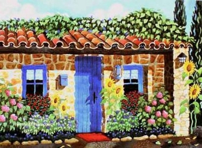 Home in Provence Giclee