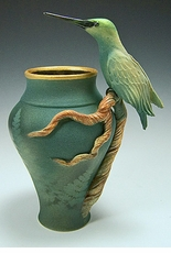 Hummingbird Branch Vase