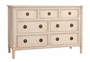 Isabella 7- Drawer Dresser
