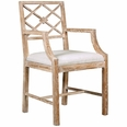 Kensington Arm Chair in Limed Oak