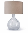 King Nine Recycled Glass Lamp  <font color=a8bb35> NEW </font>