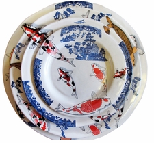 Koi & Willow Four Piece Place Setting