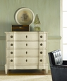 Large Gustavian Chest in Antique White or Grey