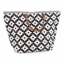 Le Tote Black/Ivory Grand <font color=a8bb35> NEW</font>