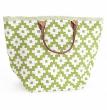 Le Tote Sprout Green/White Grand <font color=a8bb35> NEW</font>