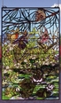 Lily Pond Stained Glass Window