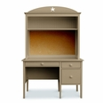 Little Cay Desk with Cork Hutch - Lefty or Righty