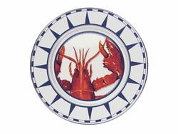 Lobster Dinner Plates Set of Two