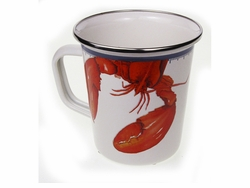 Lobster Latte Mug Set of Two