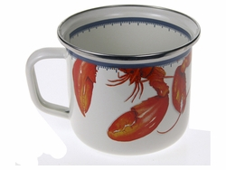 Lobster Soup Mug Set of Two