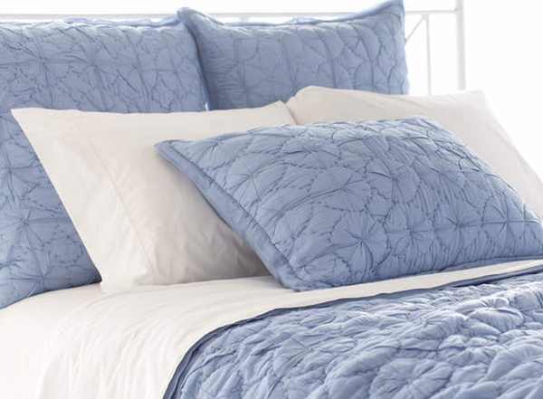 Blue Quilted Euro Sham 600 x 441