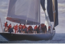 Men In Red - The Endeavor Giclee