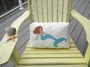 Mermaid Poolside Pillow