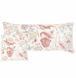 Mirabelle Embroidered Decorative Pillow in Two Sizes