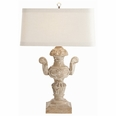 Monte Carlo Hand Carved Solid Wood Trophy Lamp