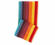Montego Stripe Multi Chenille Throw