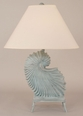 Nautilus Shell Lamp w/stand