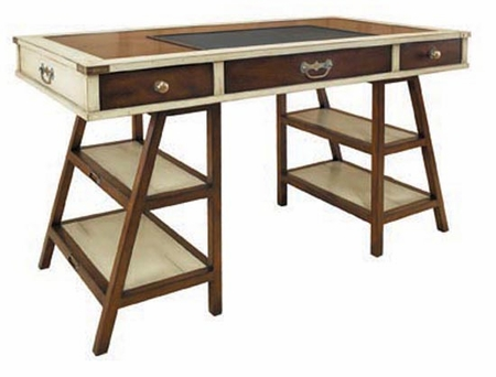 Navigators Desk in Ivory