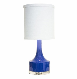 Navy Holmby Table Lamp <Font color=a8bb35> NEW</font>